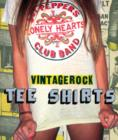 Vintage Rock T-shirts - Book