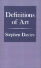 Definitions of Art - Book