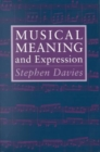 Musical Meaning and Expression - Book