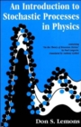 An Introduction to Stochastic Processes in Physics - Book