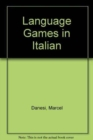 Language Games in Italian - Book