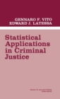 Statistical Applications in Criminal Justice - Book