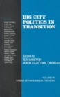 Big City Politics in Transition - Book