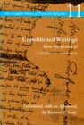 Unpublished Writings from the Period of Unfashionable Observations : Volume 11 - Book