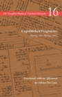 Unpublished Fragments (Spring 1885-Spring 1886) : Volume 16 - Book