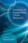 Frontiers of Commodity Chain Research - Book