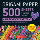 Origami Paper 500 sheets Kaleidoscope Patterns 4 (10 cm) - Book