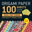 Origami Paper 100 sheets Dog Patterns 6 (15 cm) - Book