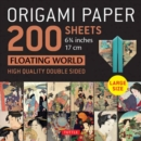"Origami Paper 200 sheets Floating World 6 3/4"" (17 cm) : Tuttle Origami Paper: High Quality, Double-Sided Origami Sheets with 12 Different Prints (Instructions for 6 Projects Included) - Book"