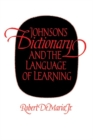 Johnson's Dictionary and the Language of Learning - Book
