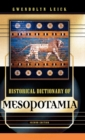 Historical Dictionary of Mesopotamia - Book