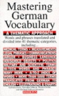 Mastering German Vocabulary: A Thematic Approach - Book