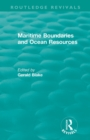 : Maritime Boundaries and Ocean Resources (1987) - Book