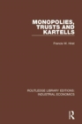 Monopolies, Trusts and Kartells - Book