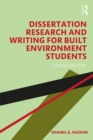 Dissertation Research and Writing for Built Environment Students - Book