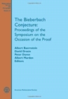 The Bieberbach Conjecture : Proceedings of the Symposium on the Occasion of the Proof - Book