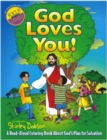 God Loves You! : A Read-aloud Coloring Book About God's Plan for Salvation - Book