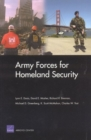 Army Forces for Homeland Security - Book