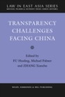 Transparency Challenges Facing China - Book