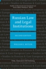 Russian Law and Legal Institutions - Book
