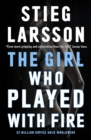 The Girl Who Played With Fire : A Dragon Tattoo story - Book