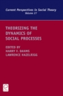 Theorizing the Dynamics of Social Processes - Book