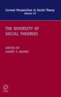 The Diversity of Social Theories - Book