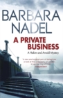 A Private Business : A Hakim and Arnold Mystery - Book