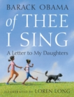 Of Thee I Sing : A Letter to My Daughters - Book