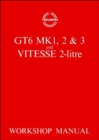 Triumph Workshop Manual: Gt6 Mk 1, 2, 3 & Vitesse 2 Litre : Part No. 512947 - Book