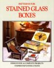 Patterns for Stained Glass Boxes - Book