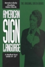 American Sign Language Green Books, A Student's Text Units 1927 - Book