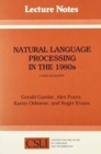 Natural Language Processing in the 1980s : A Bibliography - Book