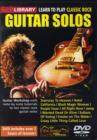 Lick Library: Learn to Play Classic Rock Guitar Solos - DVD
