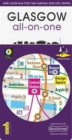 Glasgow All-On-One Map : Walk Cycle Bus Train Taxi Subway and City Centre - Book