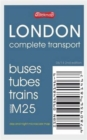 London Complete Transport : Microscale Map of Buses Tubes Trains Inside M25 - Book