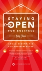 Staying Open for Business : Legal Essentials for Entrepreneurs - Book