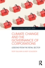 Climate Change and the Governance of Corporations : Lessons from the Retail Sector - eBook