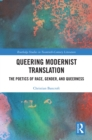 Queering Modernist Translation : The Poetics of Race, Gender, and Queerness - eBook
