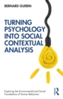 Turning Psychology into Social Contextual Analysis - eBook