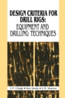 Design Criteria for Drill Rigs - eBook