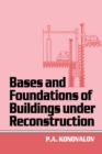 Bases and Foundations of Building Under Reconstruction - eBook