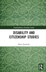 Disability and Citizenship Studies - eBook