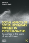 Social Aspects Of Sexual Boundary Trouble In Psychoanalysis : Responses to the Work of Muriel Dimen - eBook