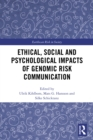 Ethical, Social and Psychological Impacts of Genomic Risk Communication - eBook