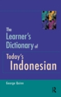 The Learner's Dictionary of Today's Indonesian - eBook