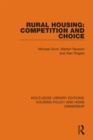 Rural Housing: Competition and Choice - eBook