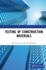 Testing of Construction Materials - eBook