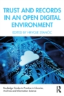 Trust and Records in an Open Digital Environment - eBook
