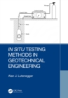 In Situ Testing Methods in Geotechnical Engineering - eBook